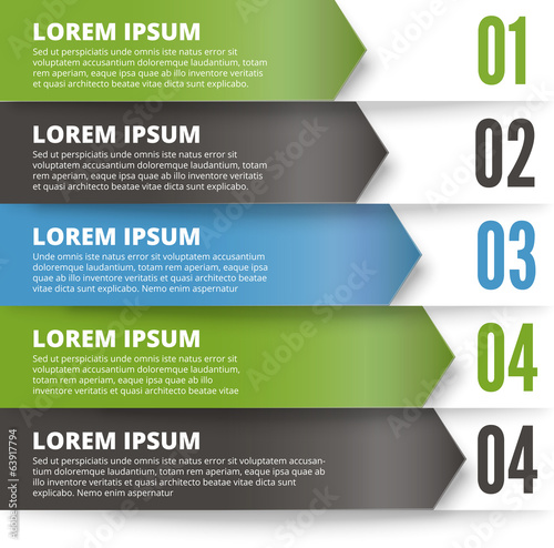 Green and dark modern Design template
