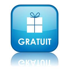 """Bouton Web """"GRATUIT"""" (prix marketing publicité soldes tampon)"""
