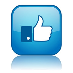 """""""LIKE"""" Web Button (thumbs up share recommend comment)"""