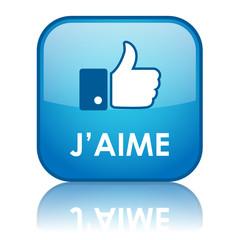 """Bouton Web """"J'AIME"""" (recommander partager like réseaux sociaux)"""