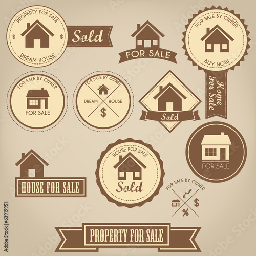 Property For Sale Design Set