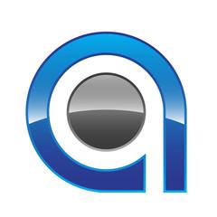 Q Logo Style Blue