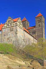 Schlossberg mit Dom Quedlinburg