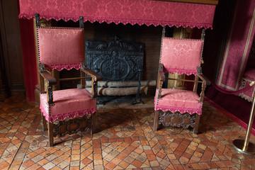 Castle of Chenonceau interior.