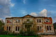 canvas print picture - Abandoned mansion...