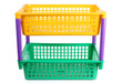 Yellow and green basket