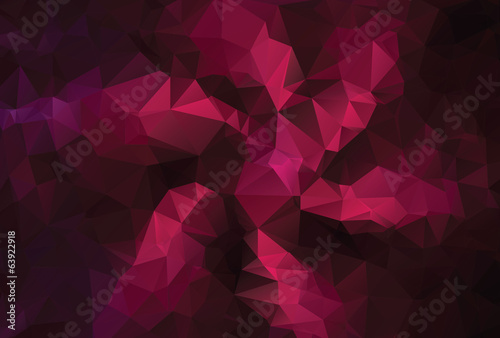 Modern Purple Polygonal Background