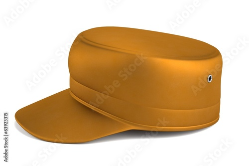 realistic 3d render of summer hat