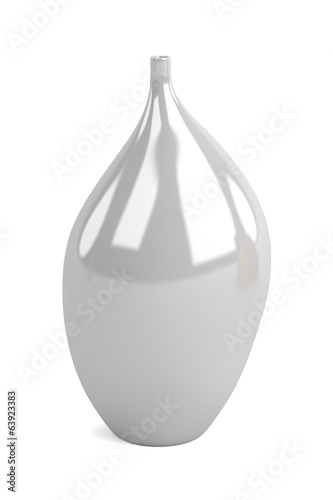 realistic 3d render of vase