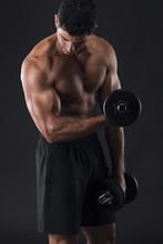 Musculaires haltérophilie homme