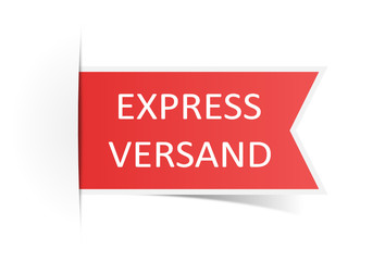 Schild Expressversand