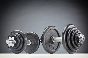 Two Fitness Dumbbells