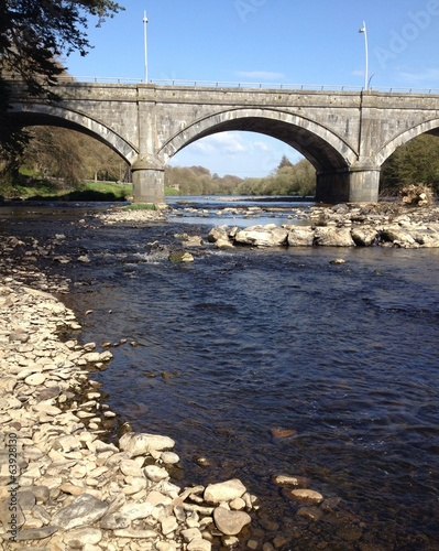 bridge over the river feale, listowel