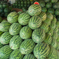 Watermelon at the market