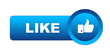 """LIKE"" Web Button (thumbs up share recommend comment)"
