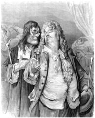 Men - Caricature - 17th century