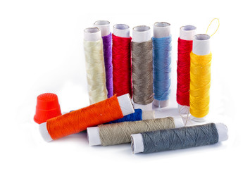 Set of sewing threads