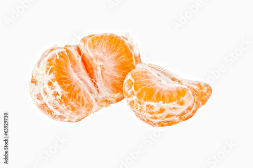 Lobules of mandarin orange