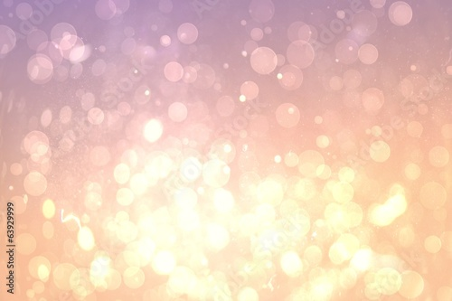 Pink abstract light spot design