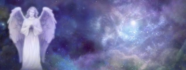 Heavenly Angel Website Banner