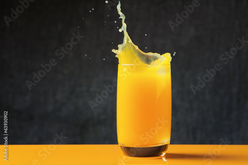 Splash of orange juice
