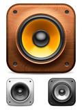 Audio speakers.