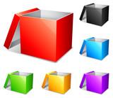Color boxes.