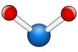 Single Water H2O molecule