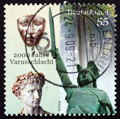 Postage stamp Germany 2009 Battle of the Teutoburg Forest