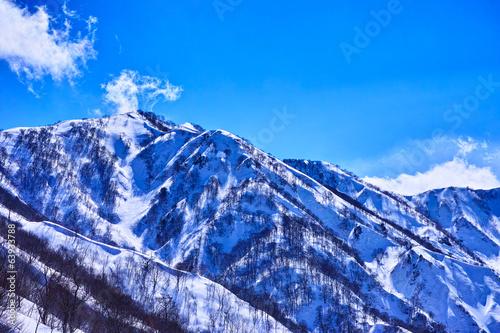 冬の小遠見山