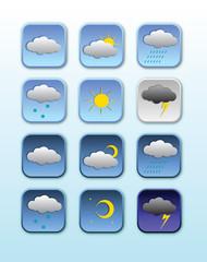 Иконки прогноз погоды