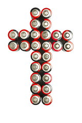 Cross of Batteries