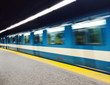 Subway train in Montreal - 63938901