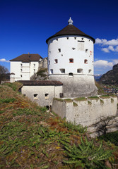 Fortress castle in Kufstein, Austria