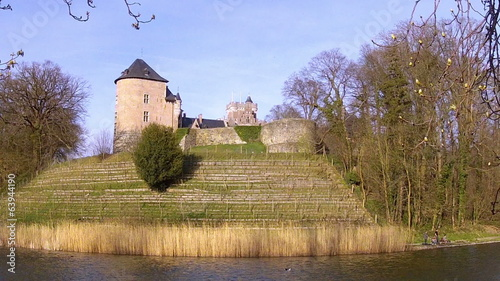 Gaasbeek Castle. The fortified castle was erected around 1240