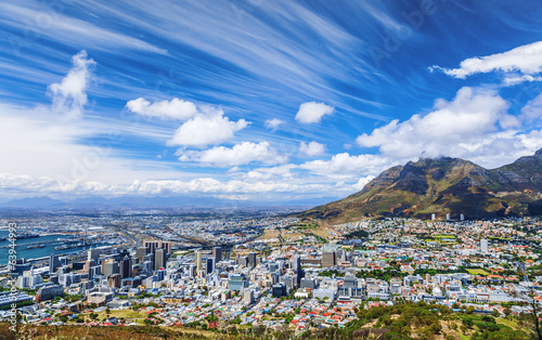 Cape Town city view