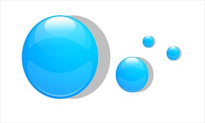 gocce, bolle