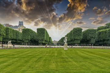 Luxemburg gardens, Paris.