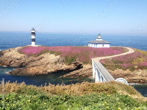 Lighthouse in Ribadeo, Galicia - Spain
