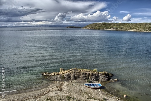 canvas print picture Isla del Sol