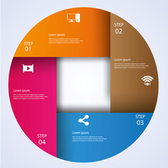 Business Infographic style Vector illustration