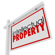 Intellectual Property For Sale Sign Advertising Licensing Origin