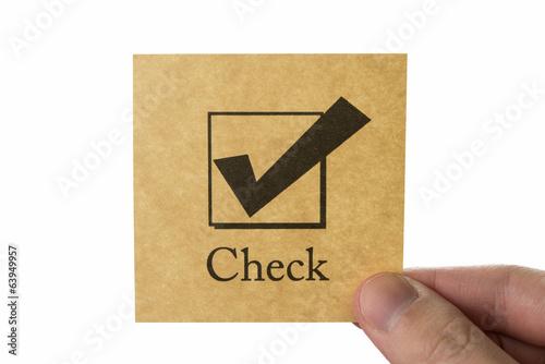 チェックボックス アイコン check