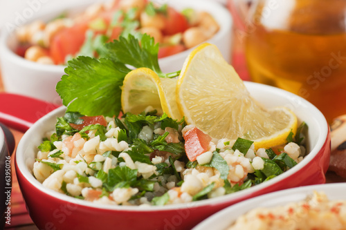 Tabbouleh, bulgur wheat salad