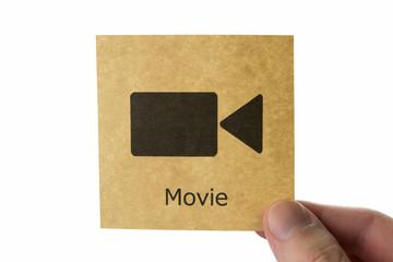 動画 アイコン movie