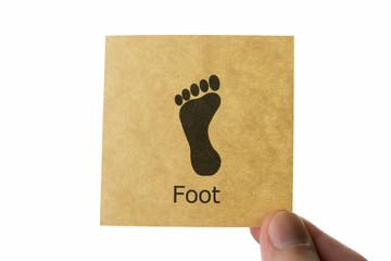 足 アイコン foot