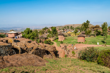 Lalibela village
