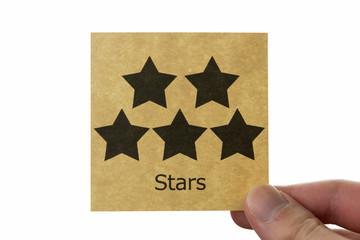 5つ星 アイコン star