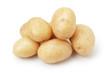 heap of baby potatoes - 63953397