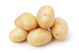 heap of baby potatoes